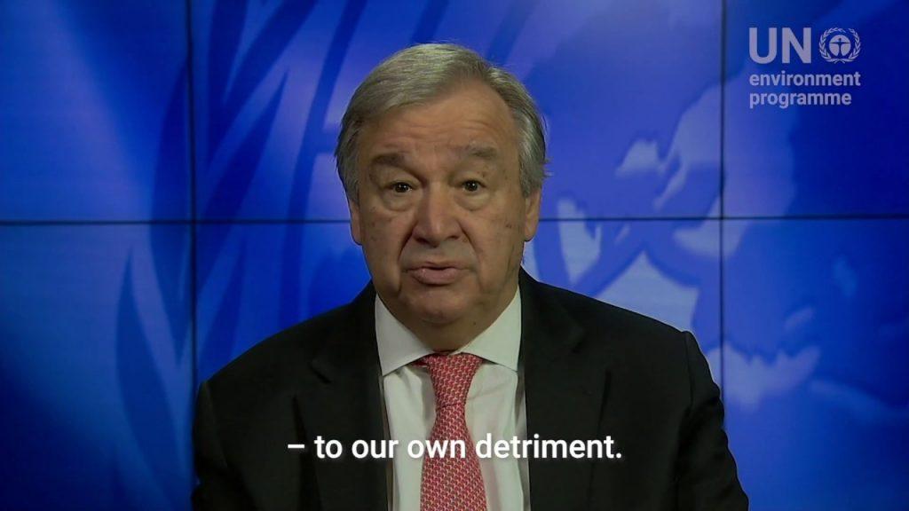 António Guterres #ForNature