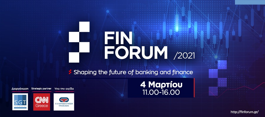Fin Forum 2021, Shaping the future of banking & finance