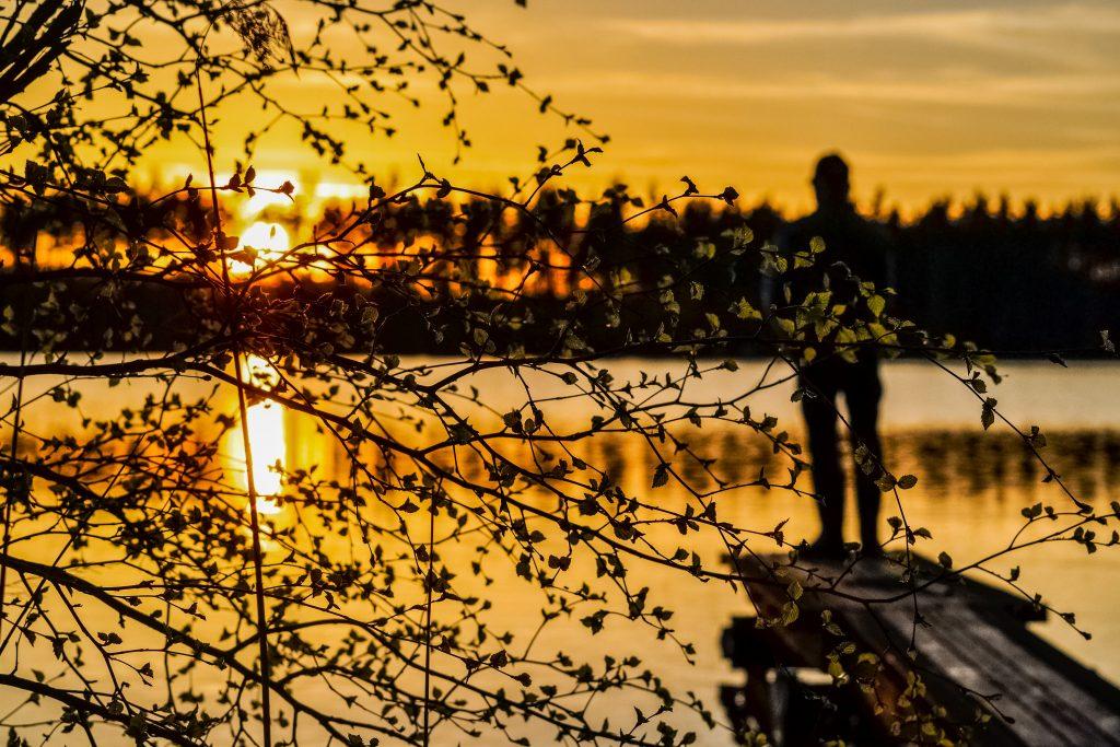 sunset-and-a-man-fishing-6QFRLBG