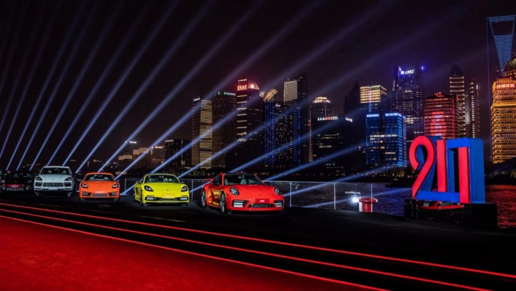 20 years of Porsche in China