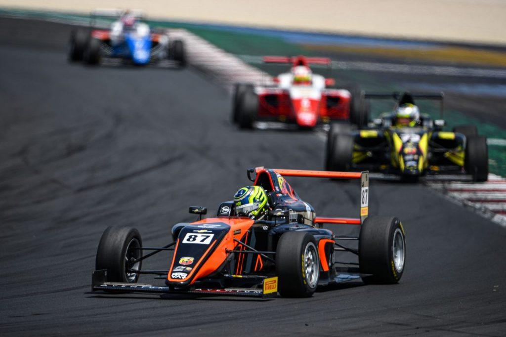 01_Oliver Bearman (GBR) #87, Van Amersfoort Racing, Italian F.4 Championship Powered by Abarth - Misano - HP