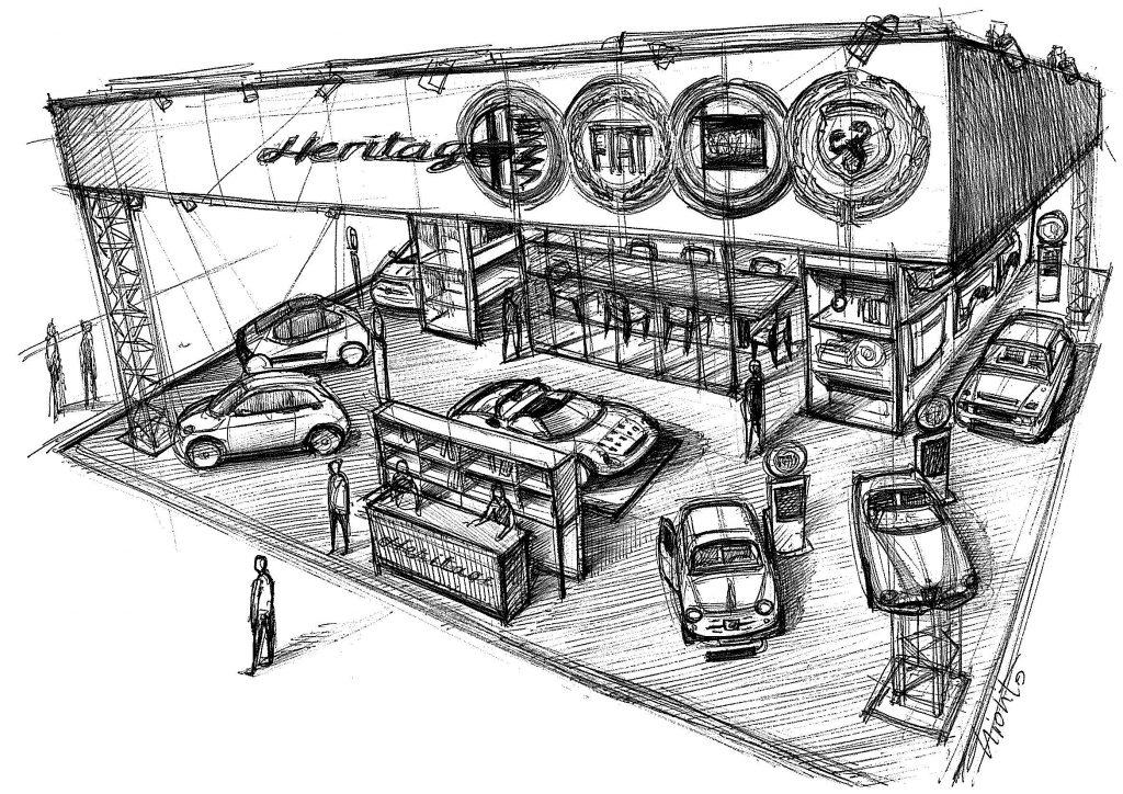 Stand Heritage@Auto e Moto d'Epoca 2021