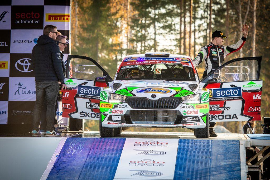 SKODA FABIA RALLY2 EVO - WRC FINLAND - EMIL LINDHOLM-REETA HAMALAINEN_2