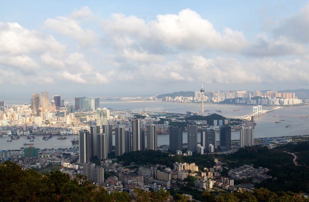modern-macau-buildings-on-hilly-landscape-in-china-XS95VNE